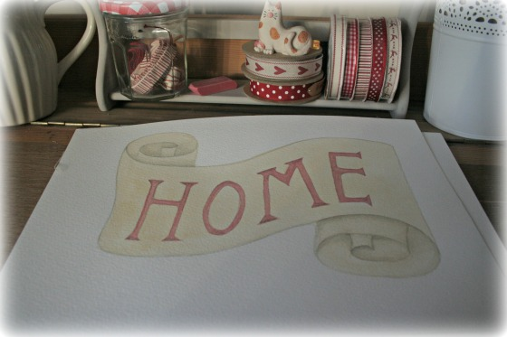Home watercolour